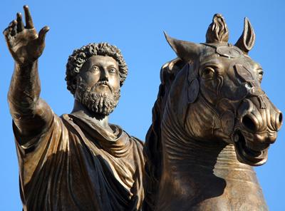 Liderazgo estoico en Marco Aurelio