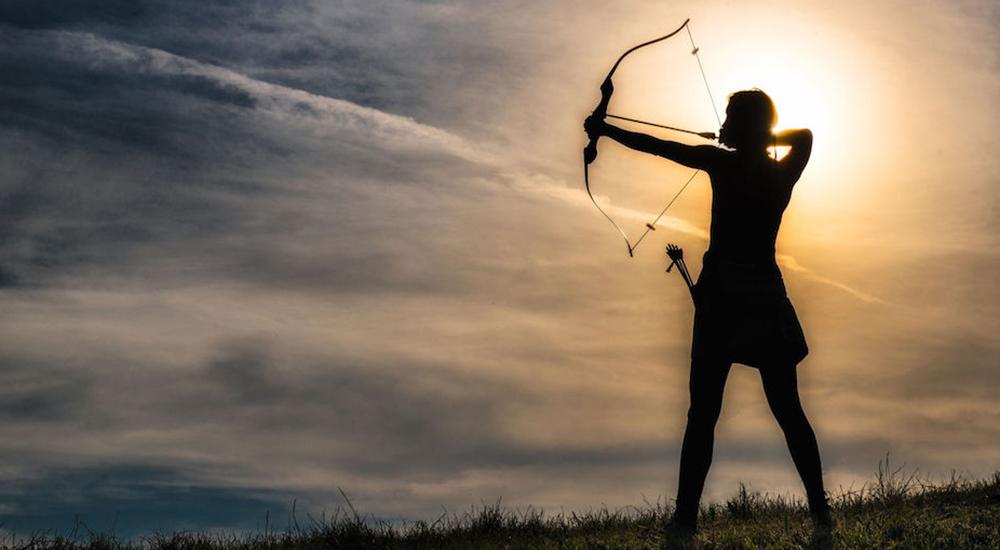Estoicismo en la metáfora del arquero: el resultado no depende de ti
