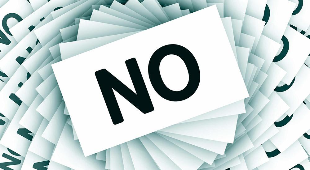 Decir no y felicidad